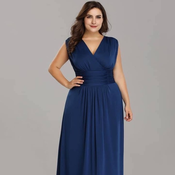 Dresses & Skirts - midnight blue evening gown